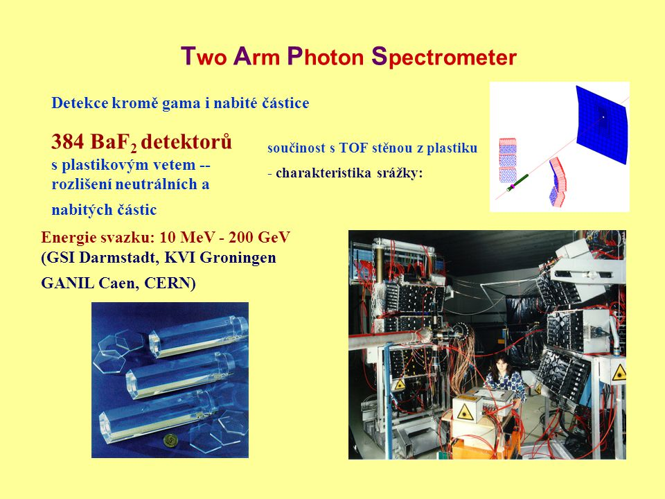 Two Arm Photon Spectrometer