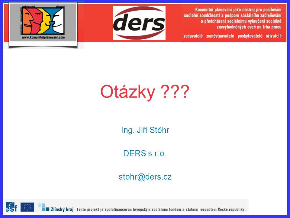 Ing. Jiří Stöhr DERS s.r.o. stohr@ders.cz