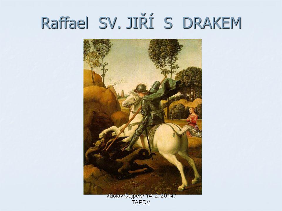 Raffael SV. JIŘÍ S DRAKEM
