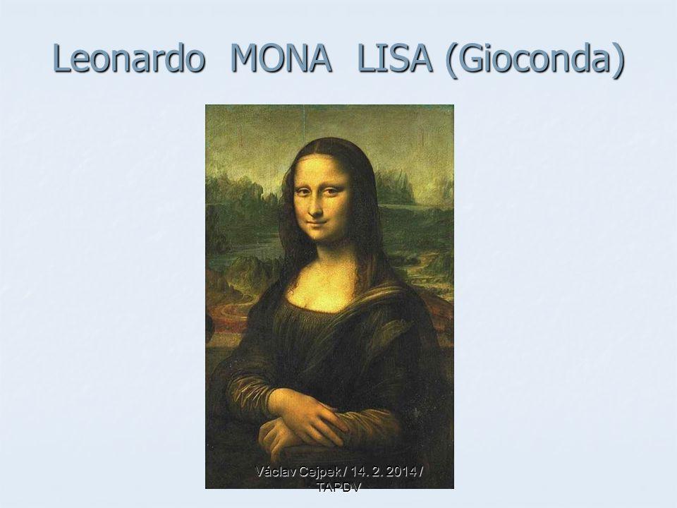Leonardo MONA LISA (Gioconda)
