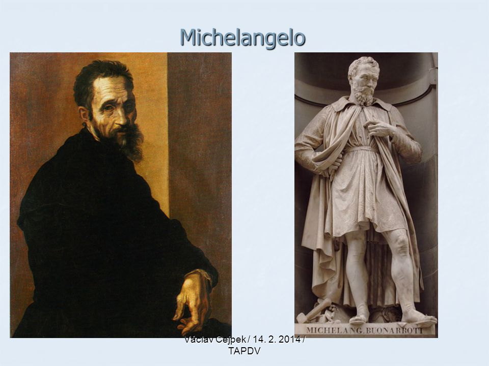 Michelangelo Václav Cejpek / 14. 2. 2014 / TAPDV