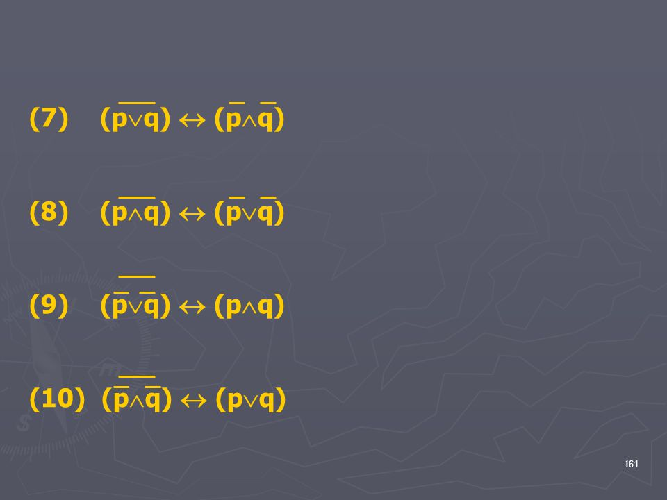 (7) (pq)  (pq) (8) (pq)  (pq) (9) (pq)  (pq) (10) (pq)  (pq)