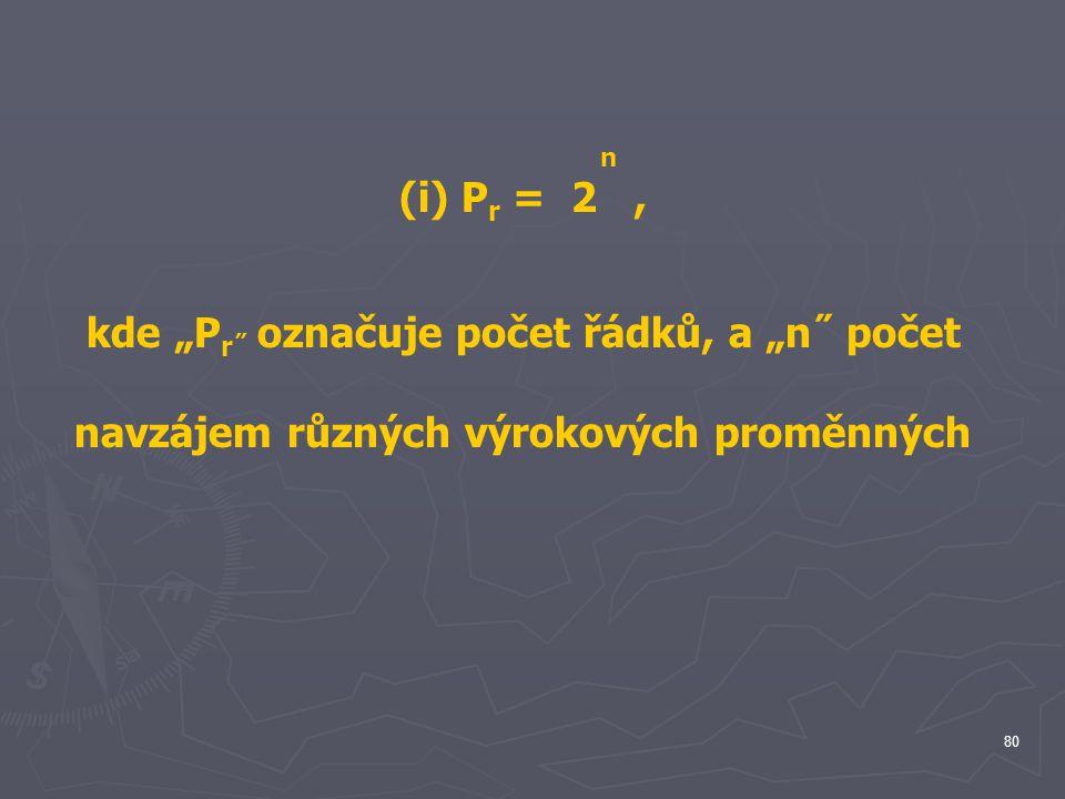 """kde """"Pr˝ označuje počet řádků, a """"n˝ počet"""