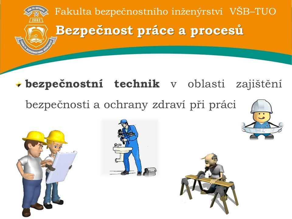 Bezpečnost práce a procesů