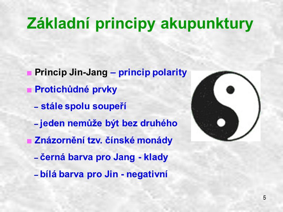 Základní principy akupunktury