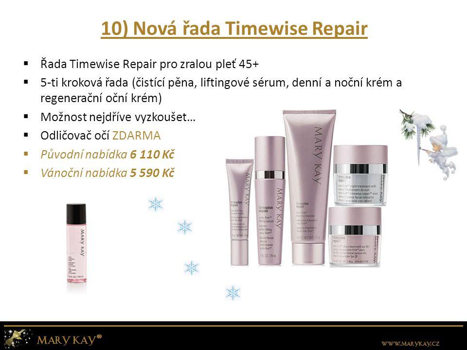 10) Nová řada Timewise Repair
