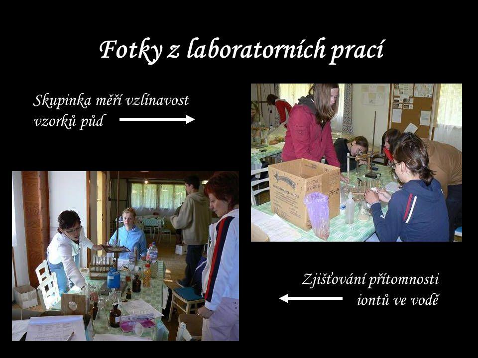 Fotky z laboratorních prací