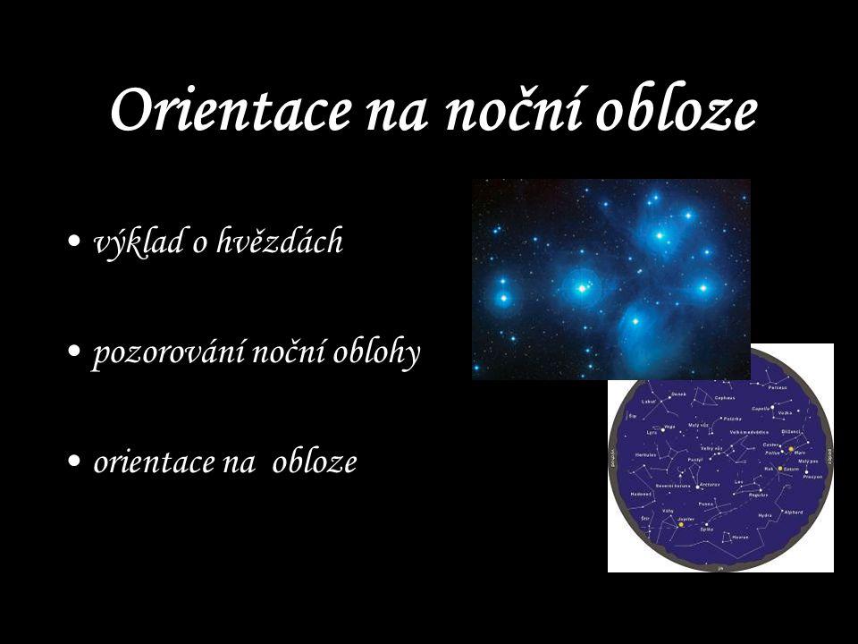 Orientace na noční obloze