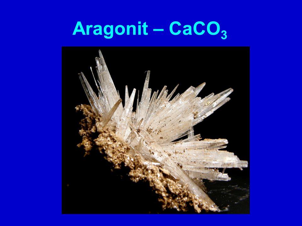 Aragonit – CaCO3