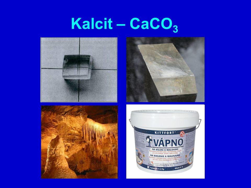 Kalcit – CaCO3