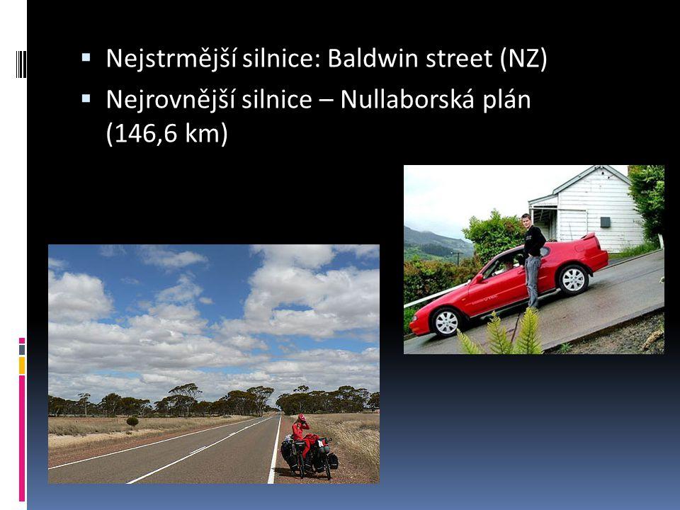 Nejstrmější silnice: Baldwin street (NZ)