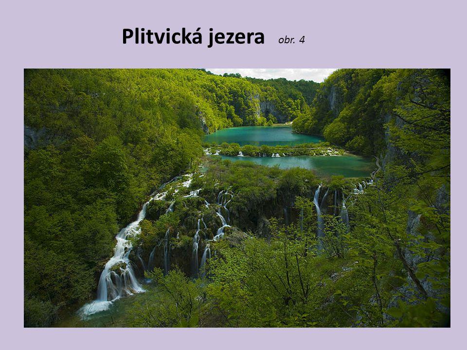 Plitvická jezera obr. 4