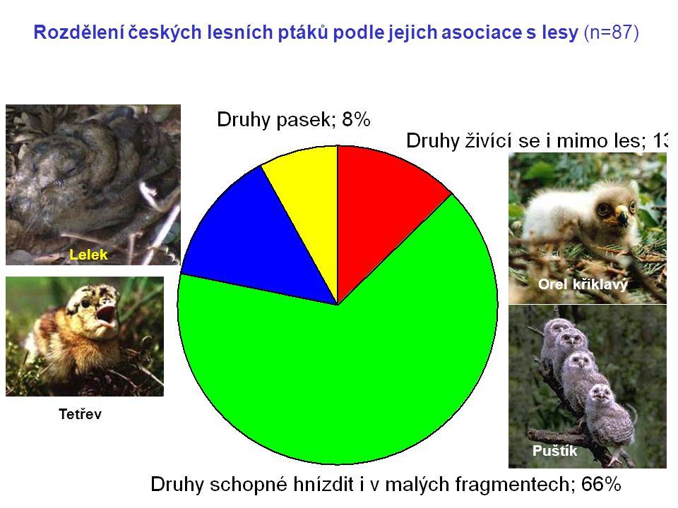 Druhy vnitřního lesa; 14%