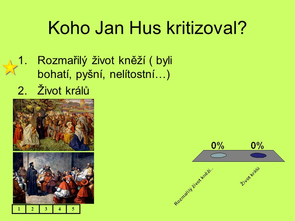 Koho Jan Hus kritizoval