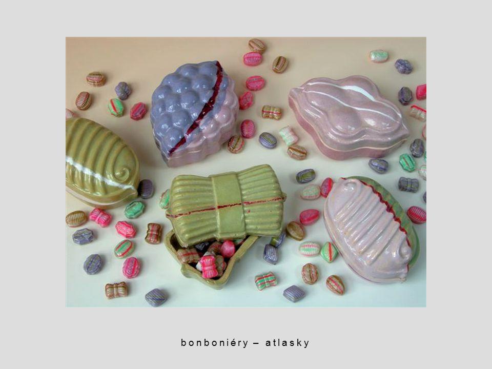 bonboniéry – atlasky