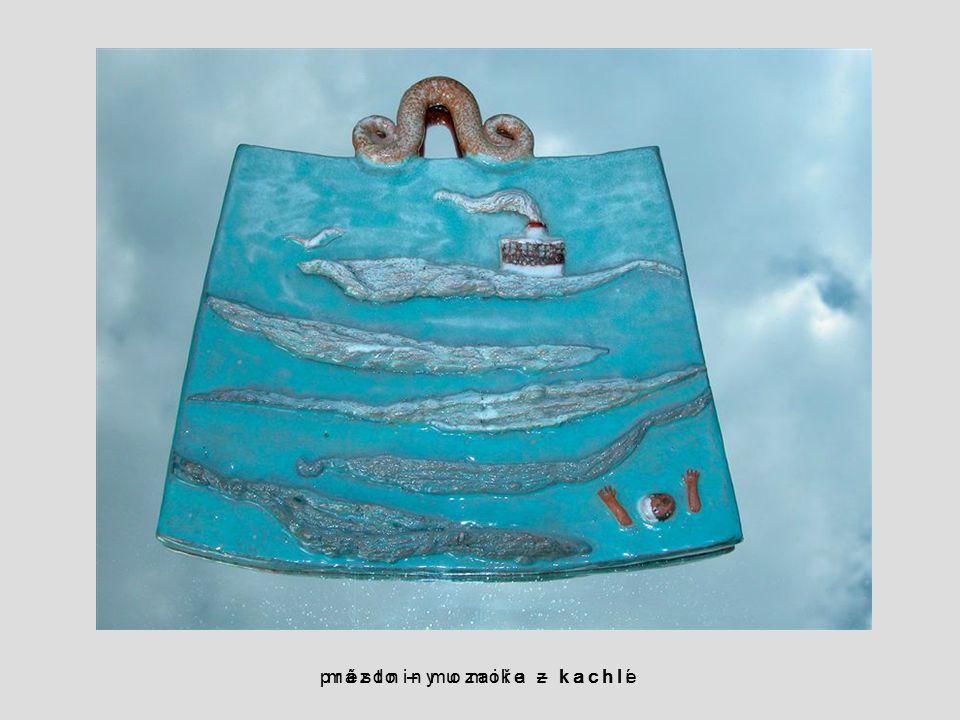 prázdniny u moře – kachle město – mozaika z kachlí