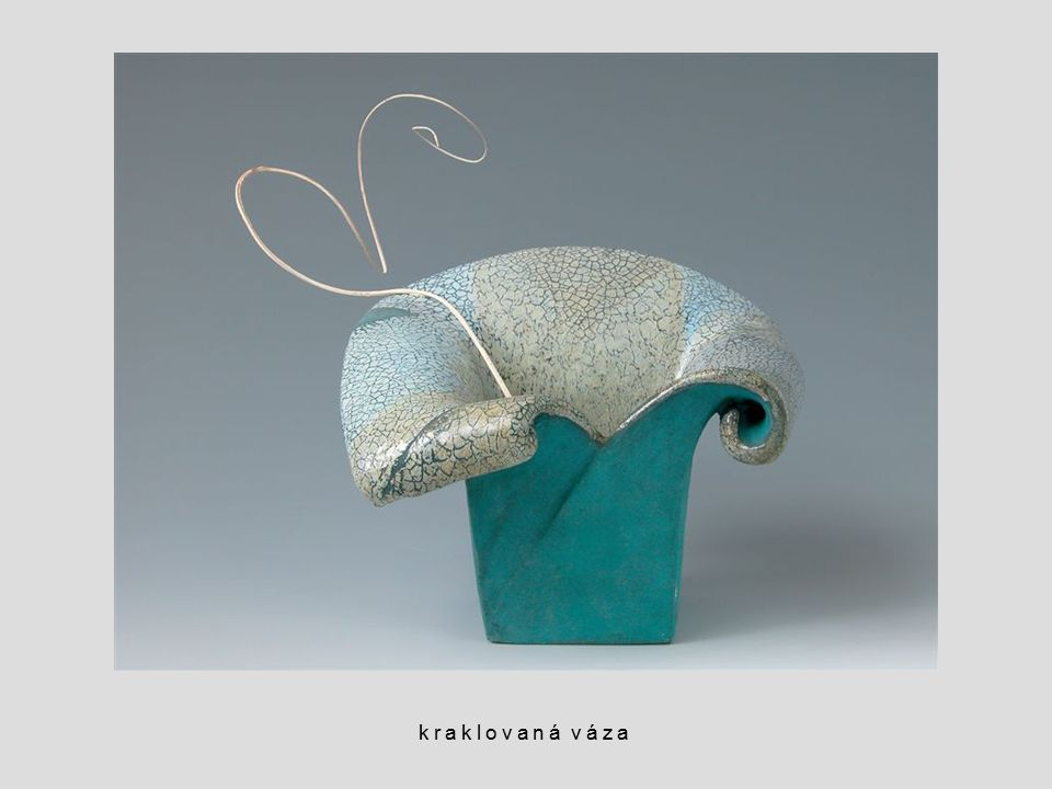 kraklovaná váza