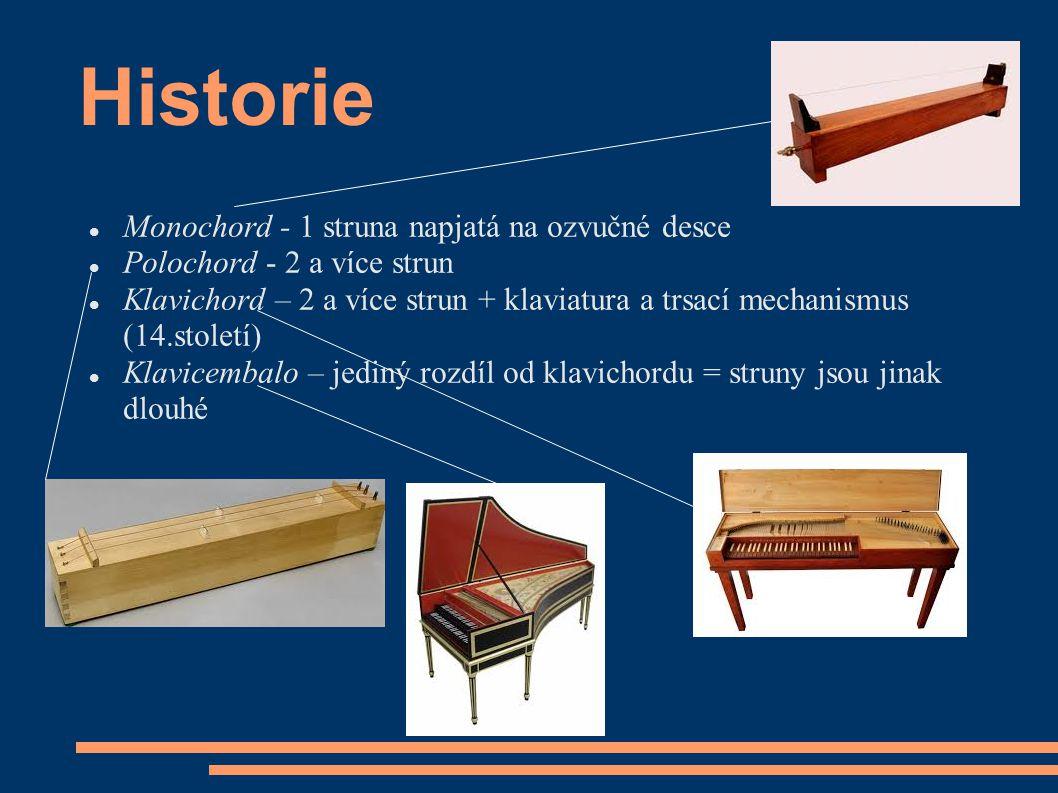 Historie Monochord - 1 struna napjatá na ozvučné desce