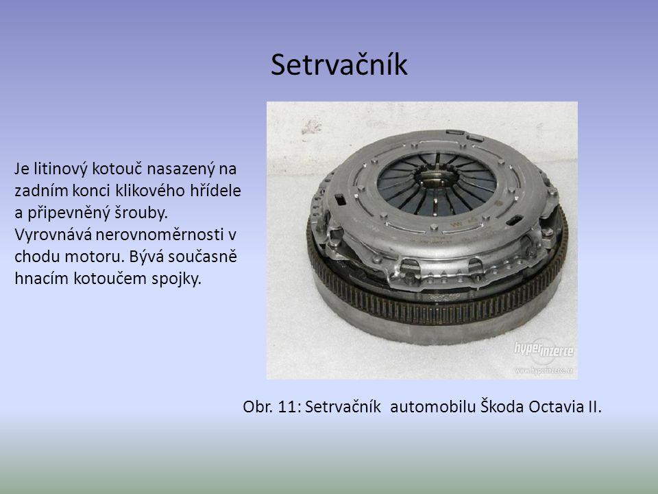 Obr. 11: Setrvačník automobilu Škoda Octavia II.