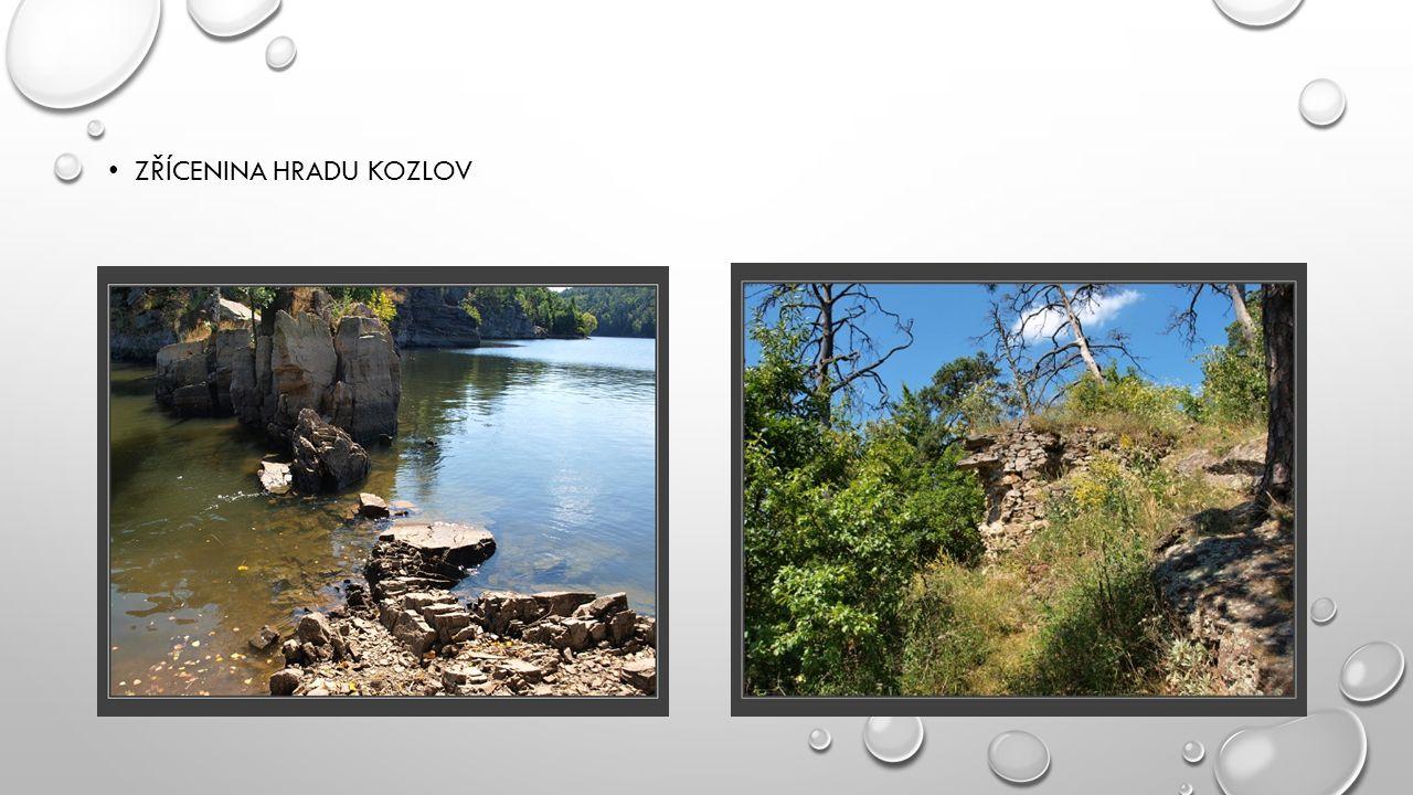 Zřícenina hradu Kozlov