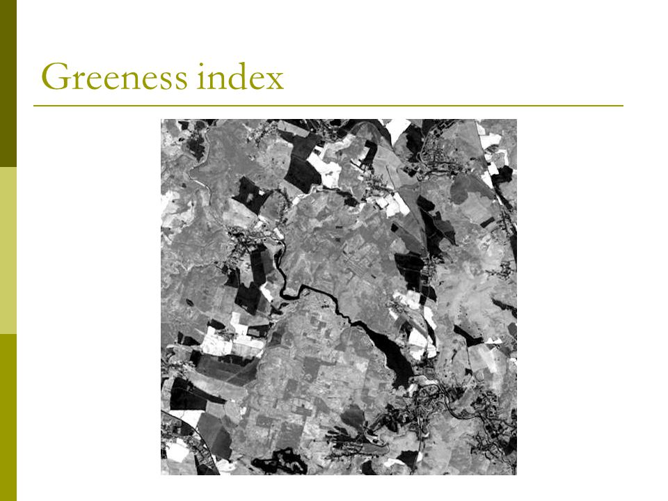 Greeness index