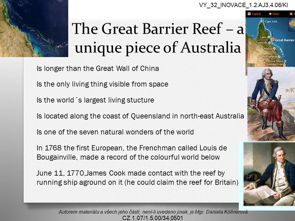The Great Barrier Reef – a unique piece of Australia