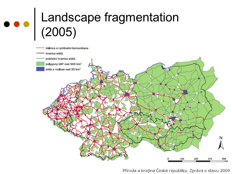 Landscape fragmentation (2005)