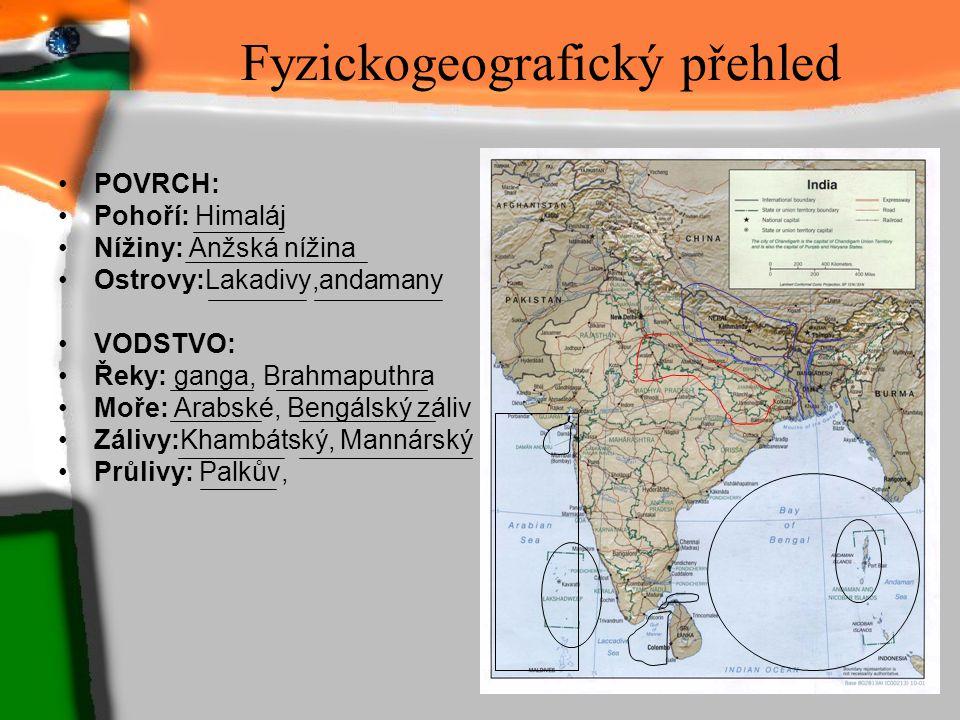 Fyzickogeografický přehled