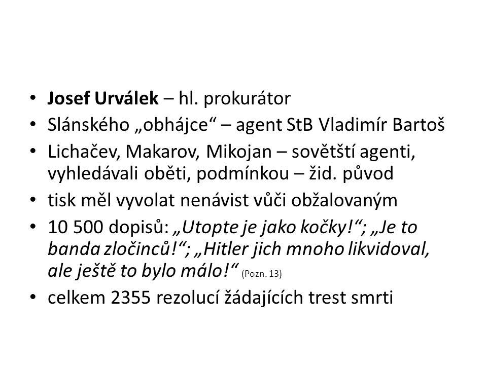 Josef Urválek – hl. prokurátor