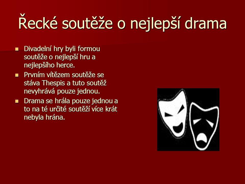 Řecké soutěže o nejlepší drama