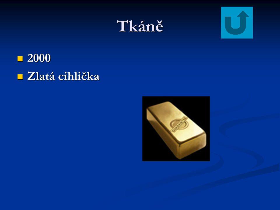 Tkáně 2000 Zlatá cihlička