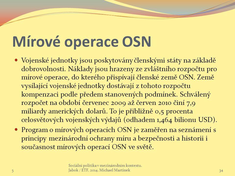 Mírové operace OSN