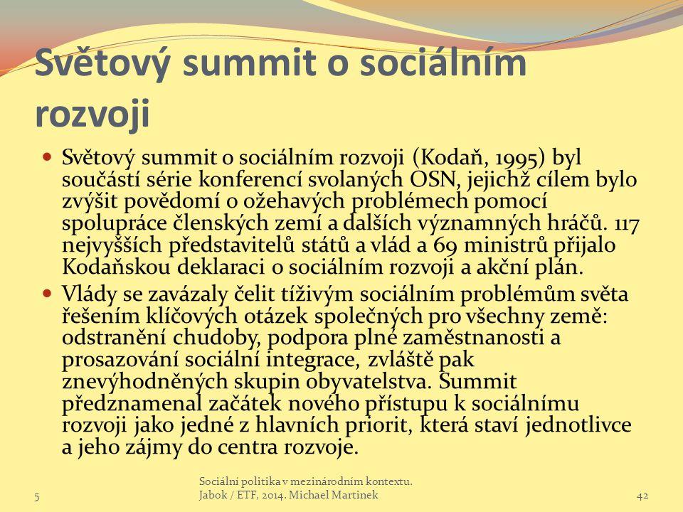 Světový summit o sociálním rozvoji