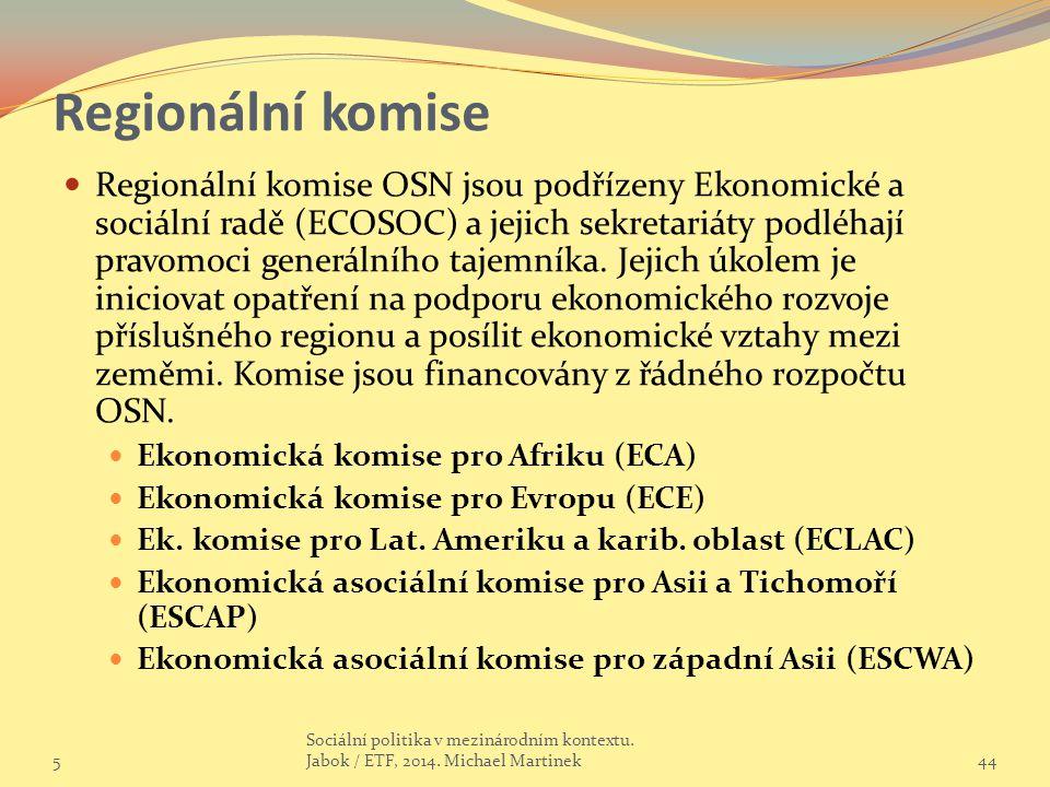 Regionální komise