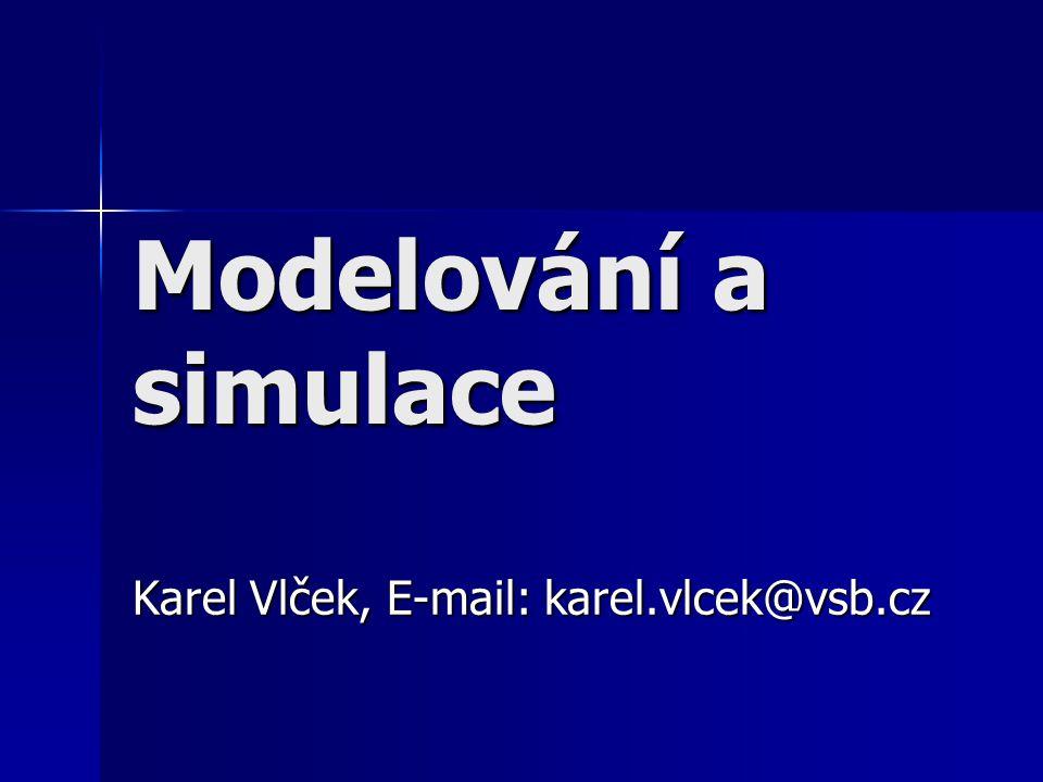 Karel Vlček, E-mail: karel.vlcek@vsb.cz