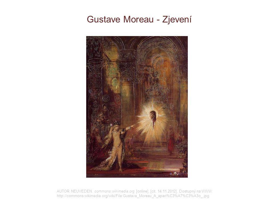 Gustave Moreau - Zjevení