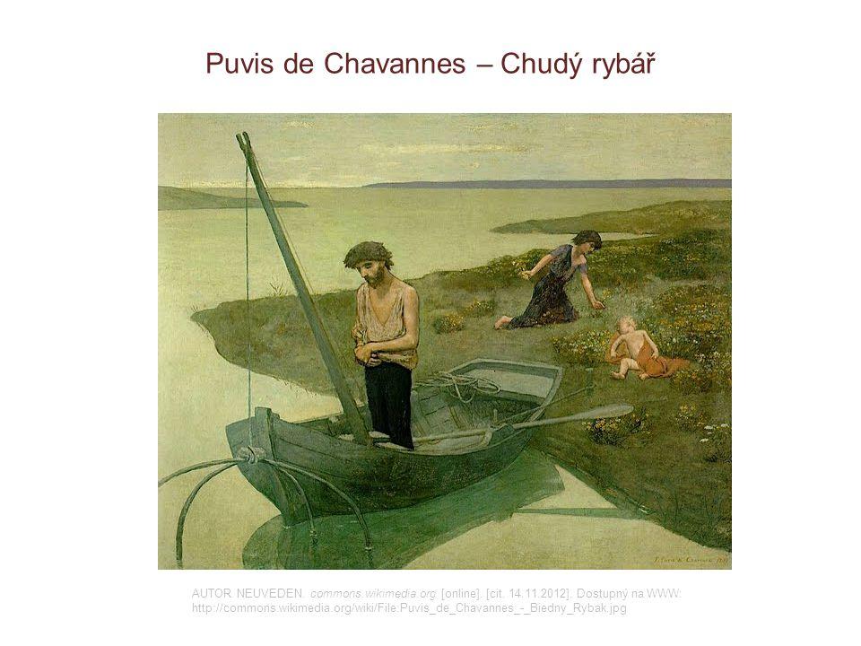 Puvis de Chavannes – Chudý rybář