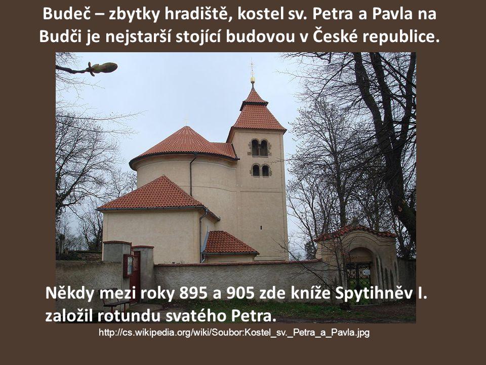 Budeč – zbytky hradiště, kostel sv