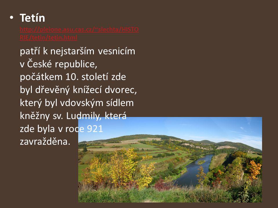 Tetín http://pleione.asu.cas.cz/~slechta/HISTORIE/tetin/tetin.html