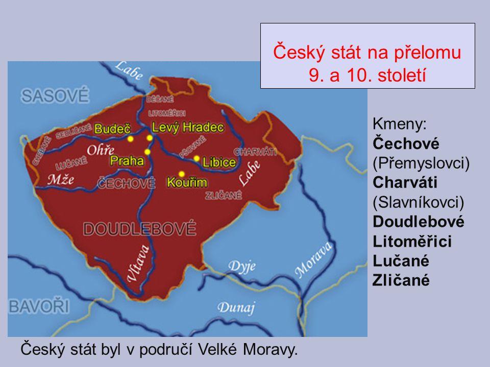 Český stát na přelomu 9. a 10. století