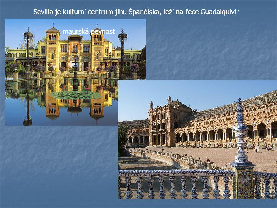Sevilla je kulturní centrum jihu Španělska, leží na řece Guadalquivir