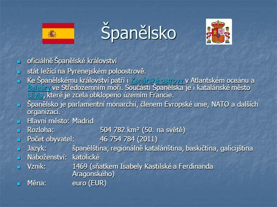 Španělsko oficiálně Španělské království