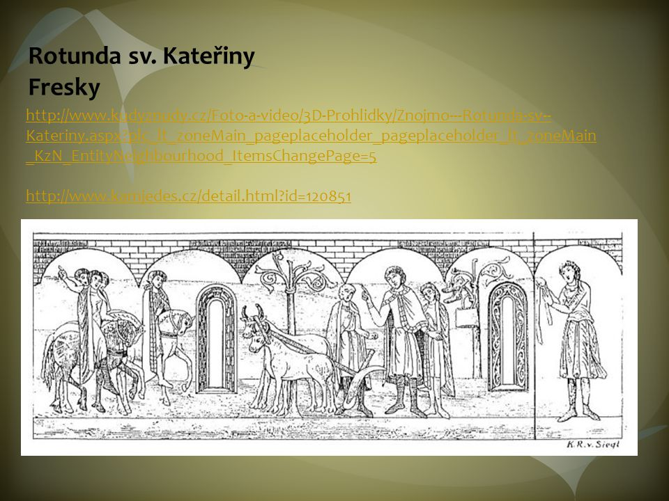 Rotunda sv. Kateřiny Fresky