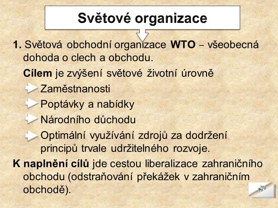 Světové organizace