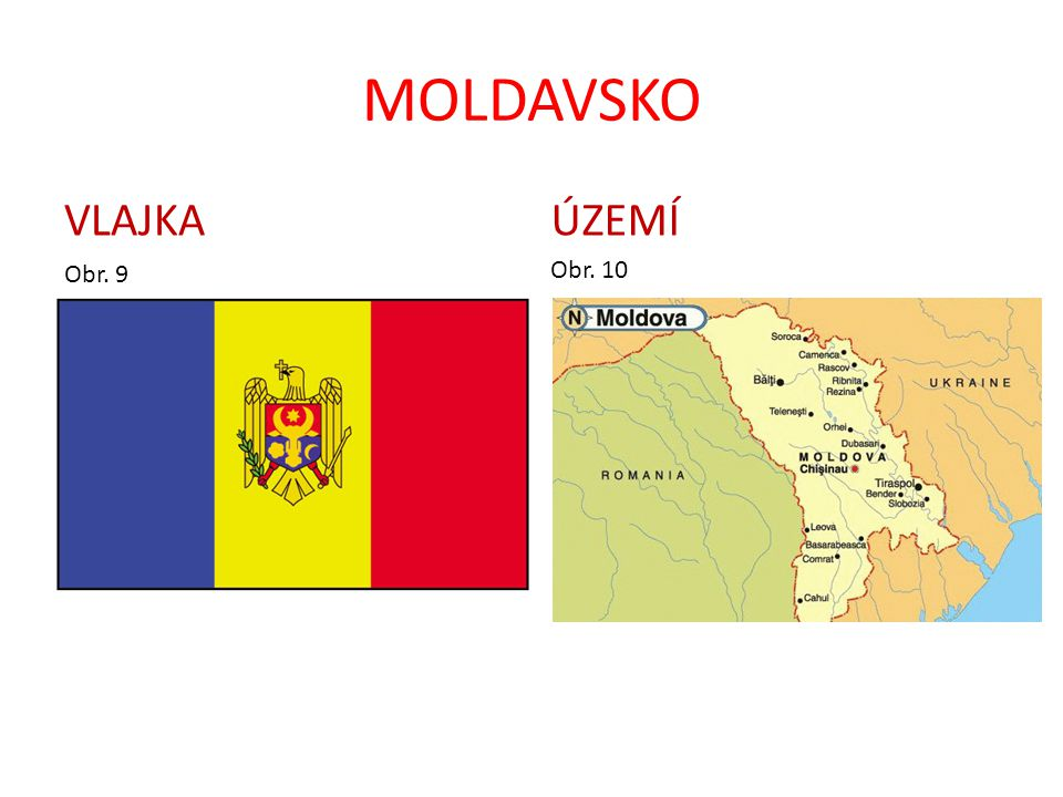 MOLDAVSKO VLAJKA ÚZEMÍ Obr. 9 Obr. 10