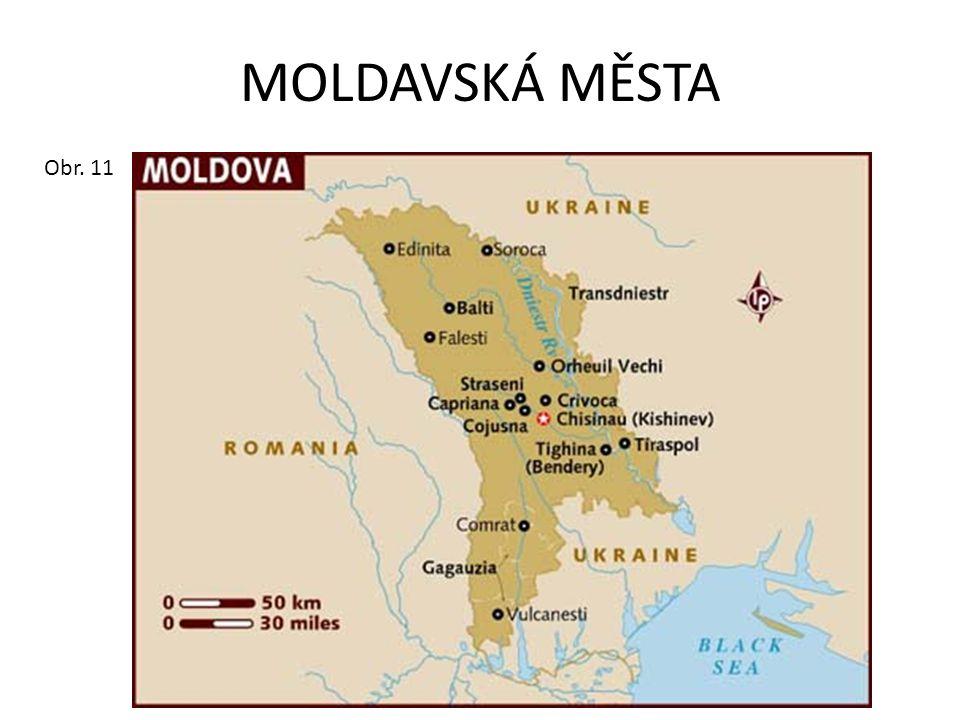 MOLDAVSKÁ MĚSTA Obr. 11