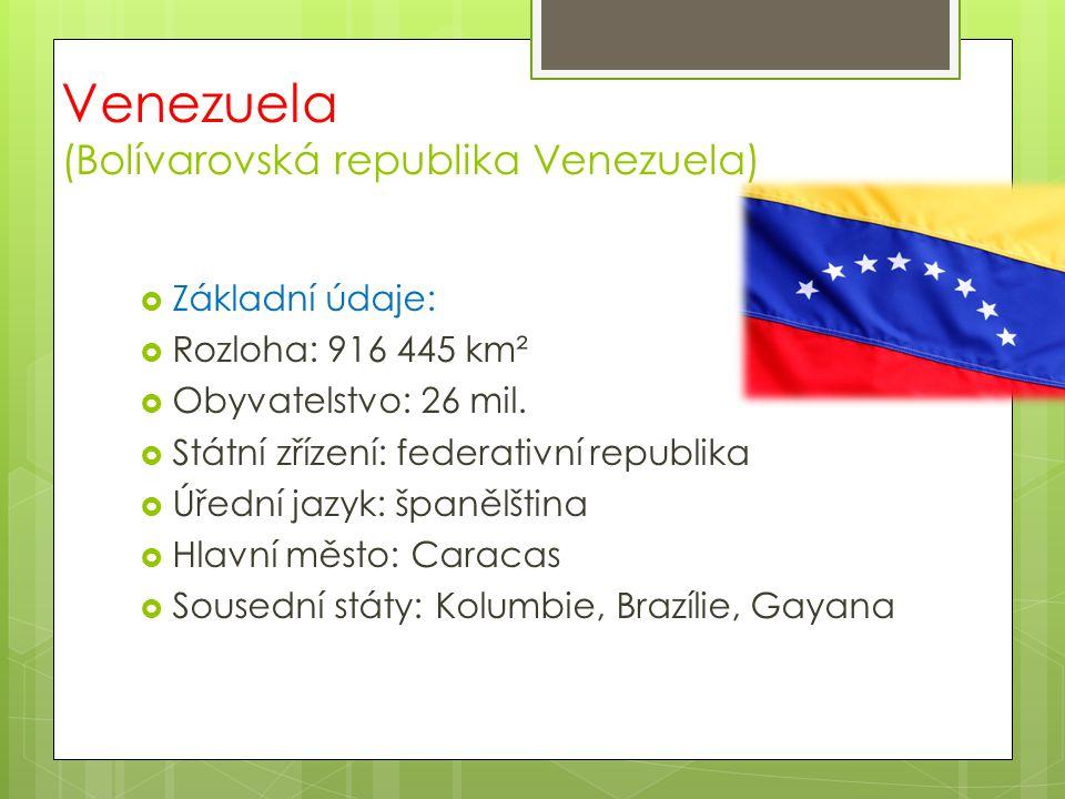 Venezuela (Bolívarovská republika Venezuela)