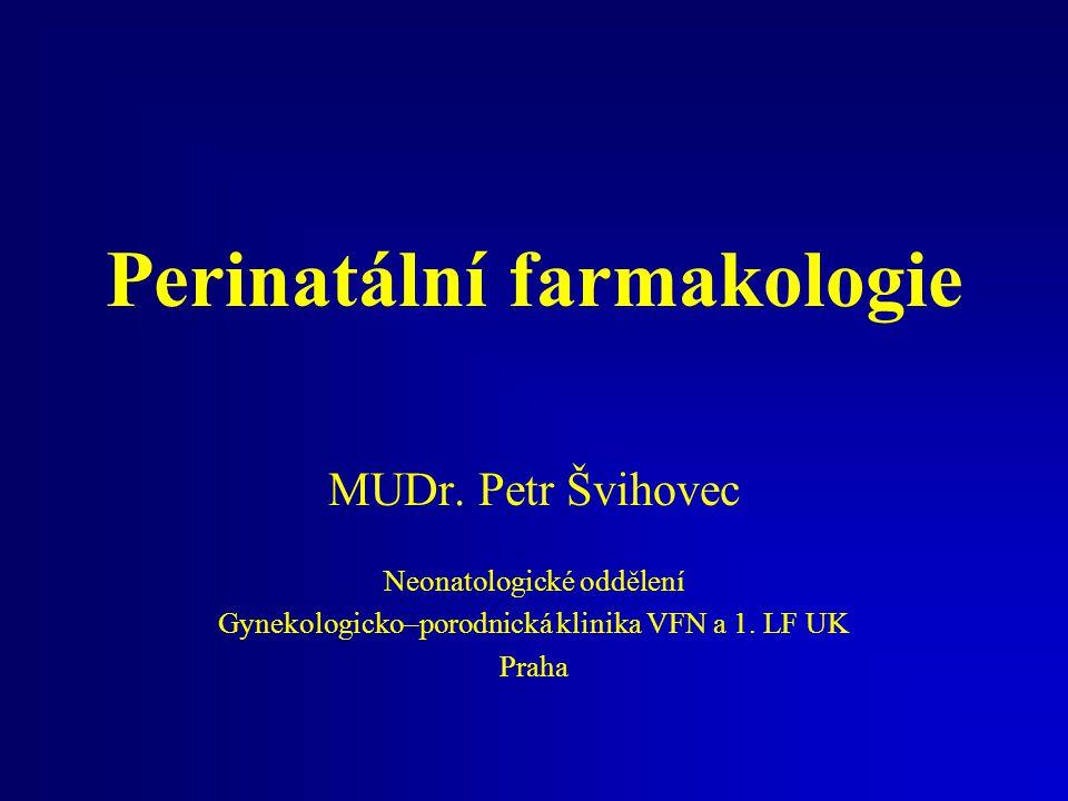 Perinatální farmakologie