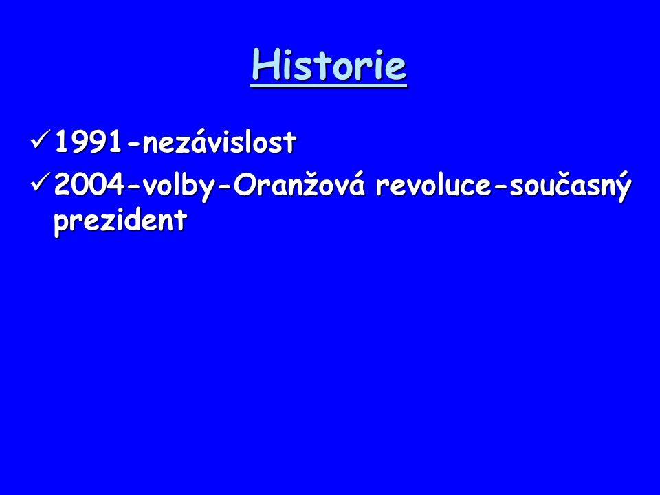 Historie 1991-nezávislost