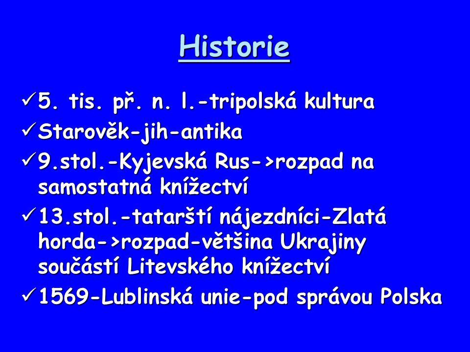 Historie 5. tis. př. n. l.-tripolská kultura Starověk-jih-antika